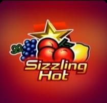 Sizzling Hot - обложка игры с фруктами для гемблеров, которые хотят играть в Плей Фортуна